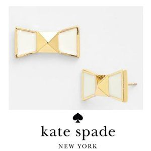 Kate Spade New York Locked In Bow Stud Earrings